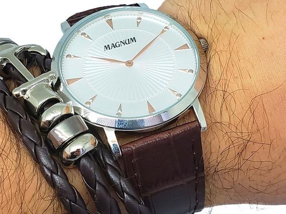 Relógio Masculino Magnum Com Nota Fiscal