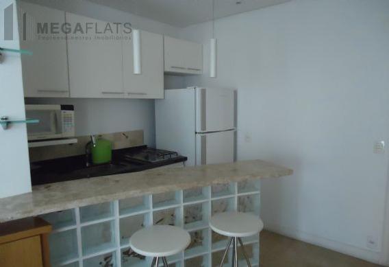 03856 - Flat 1 Dorm, Cidade Jardim - São Paulo/sp - 3856