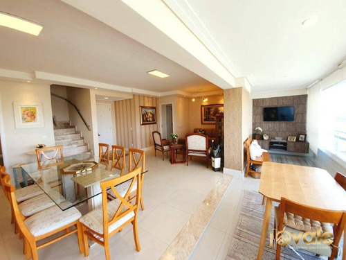 Imagem 1 de 30 de Cobertura Com 3 Dormitórios À Venda, 288 M² Por R$ 1.850.000,00 - Vila Ema - São José Dos Campos/sp - Co0029