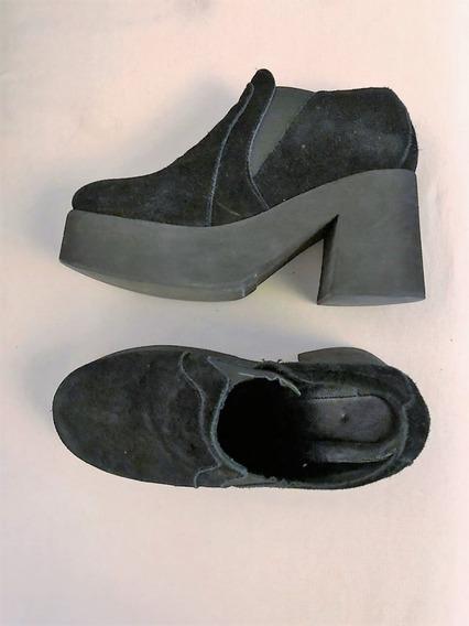 Zapatos De Mujer Mishka De Gamuza Talle 37