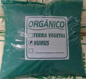 20kg Humus De Minhoca Puro - Horta Orgânica