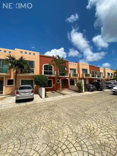 Imagen 1 de 11 de Casa En Venta Ubicada En La Privada Torrecillas De Cancún, Quintana Roo