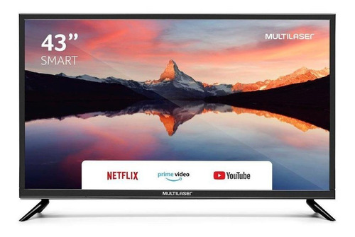 "Smart TV Multilaser TL012 LED Full HD 43"" 100V/220V"