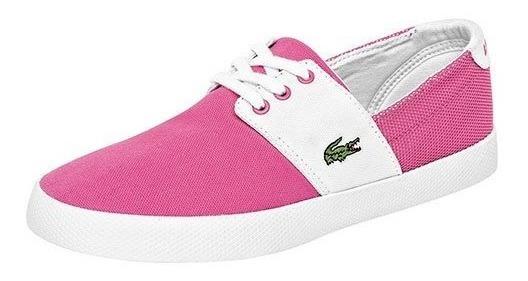 Zapato Casual Para Dama Lacoste Fairchampe Lace Up Fi739