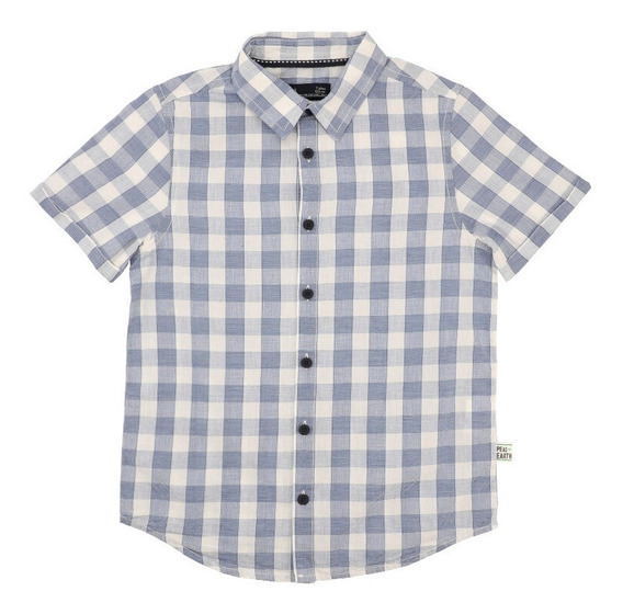 Camisa De Algodón De Niños C&a Con Estampado