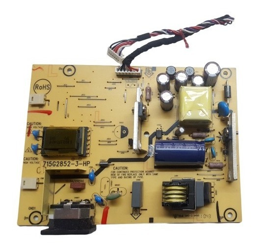 Fuente Monitor Hp 19 715g2852-3-hp / 9821mha1