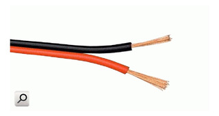 Cable Paralelo Bicolor Para Audio 2x0,50mm2 Precio X M