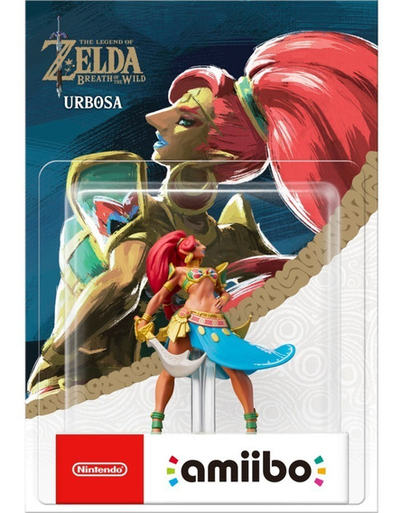 Amiibo Urbosa The Legend Of Zelda Breath Of The Wild Boneco