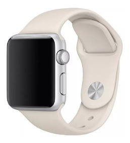 Pulseira Silicone Sport P/ Apple Watch 38 40 42 44mm Series