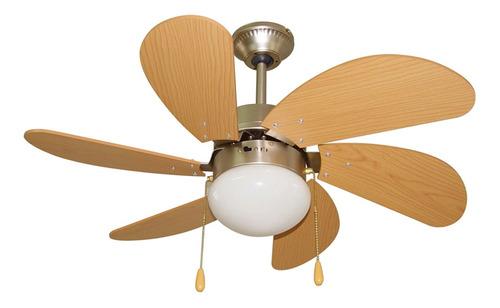Ventilador De Techo Cuori 30 6 Aspas 1 Luz | Xenex |