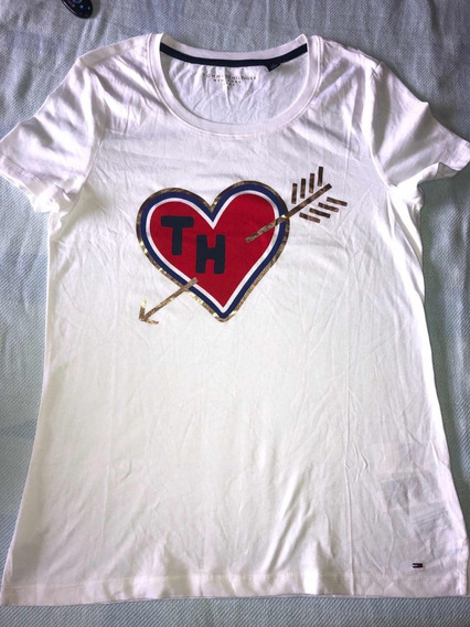 Remera Tommy Hilfiger Mujer T.s Original