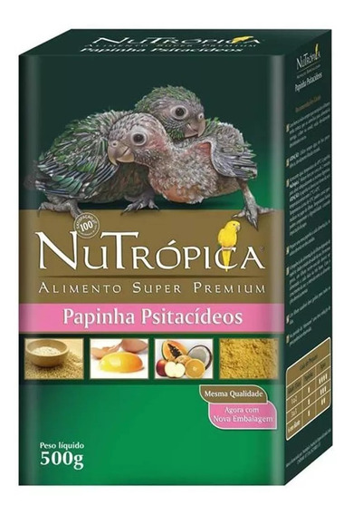 Nutropica Papinha Filhotes Psitacídeos 500g