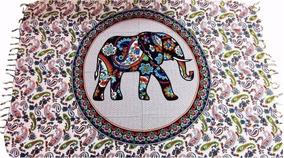 Canga De Praia Indiana Elefante Cores E Modelos Variados