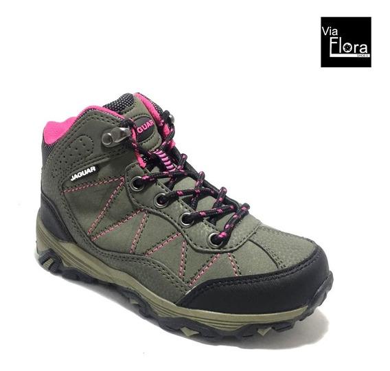 Zapatillas Botita Niños Niñas Trekking (33/3002 Envio Gratis