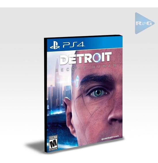 Detroit: Become Human Ps4 Envio Agora Digital