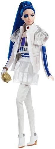 Imagem 1 de 6 de Boneca Barbie Collector Star Wars R2d2 X Original 2020