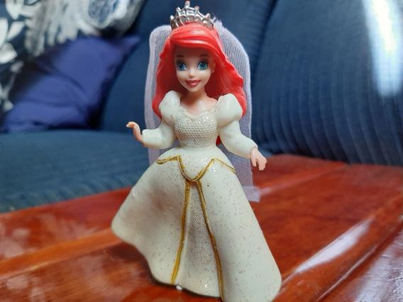 Sirenita Ariel Con Vestido De Novia De 9 Cms De Altura
