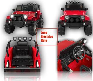 Jeep Electrico Vehiculos Para Ninos Carros Juegos Y Juguetes En Mercado Libre Mexico