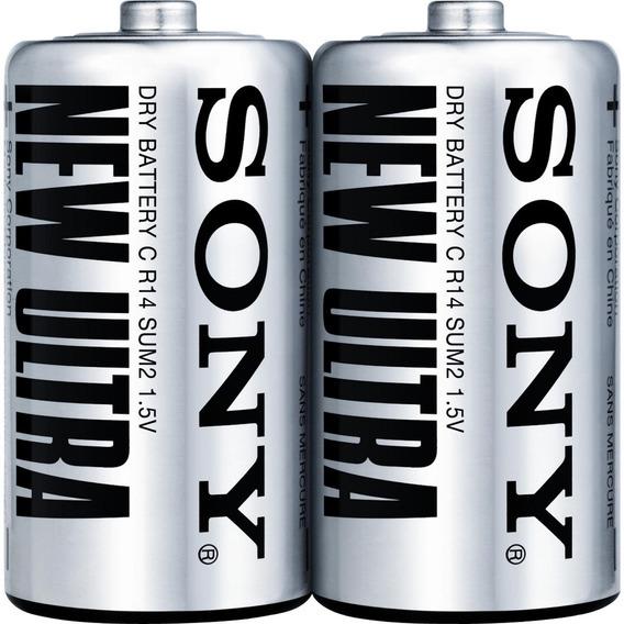 Pilha Sony Zinco Carbono C Sum2-nup2a/z Embalagem C/ 2 Und
