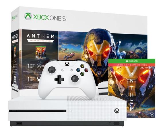 Xbox One S 1tb + Assinatura Xbox Live