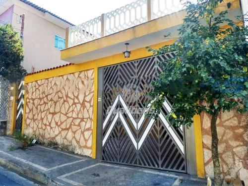Imagem 1 de 7 de Casa  3 Dormitórios À Venda - Vila Falchi - Mauá/sp - Ca0053