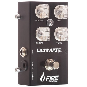 Pedal Fire Guitarra New Ultimate Distortion C/nf