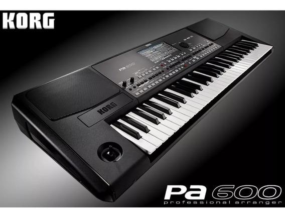 Teclado Piano Korg Pa600 Sampleado + Estuche Ofertas