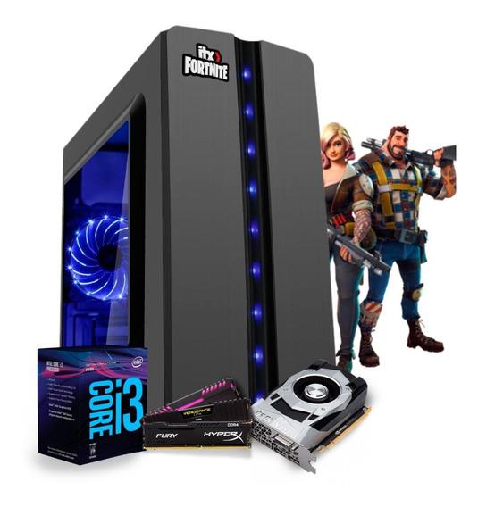 Pc Gamer I3 8100 Z370m Aorus Gaming Gtx 1050 Ti 4gb Mem 8gb