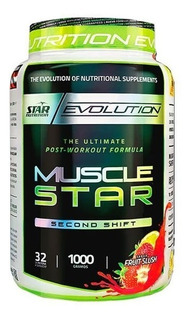 Musclestar 1kg Post Entreno Star Nutrition Masa Muscular