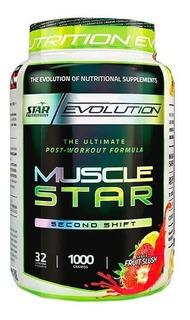 Musclestar 1kg Post Entreno Star Nutrition Masa Muscular