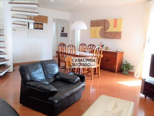 Cobertura Com 4 Dormitórios À Venda, 320 M² Por R$ 2.160.000,00 - Mooca (zona Leste) - São Paulo/sp - Co0007