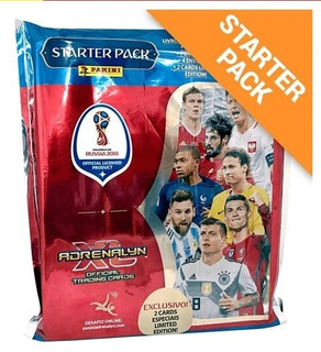 Starter Pack Cards Fifa World Cup Rússia 2018 Adrenaly Xl