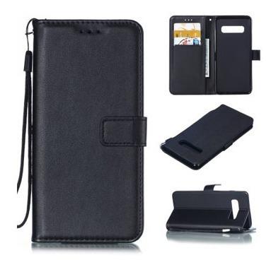 Flip Cover Samsung S10 Plus Color Negro