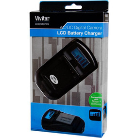Carregador Tomada E Veicular Bateria Nikon Vivsc3100 Vivitar