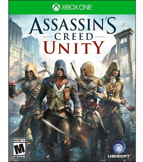 Game Assassins Creed Unity Xbox One 23274