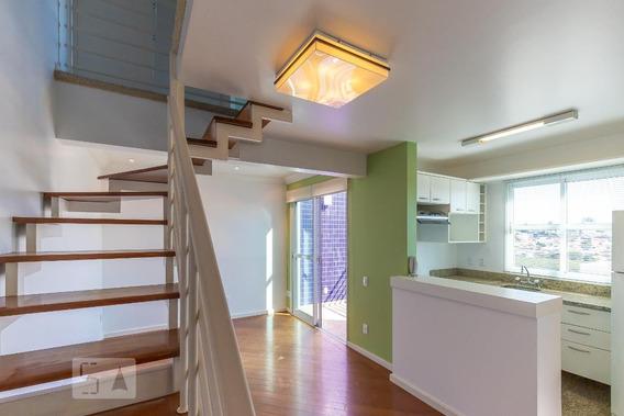 Apartamento No 7º Andar Com 1 Dormitório E 1 Garagem - Id: 892952471 - 252471