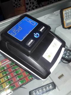 Máquina Recargable Detector De Billetes Y Contadora A La Vez