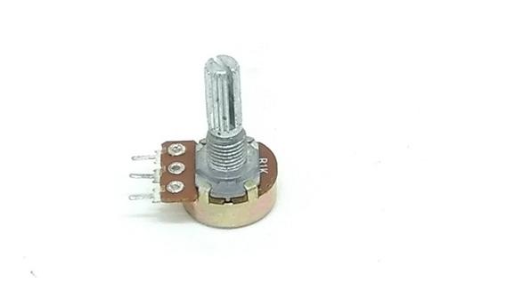 Potenciometro Wh148-1 B1k 16mm 90 Unidades