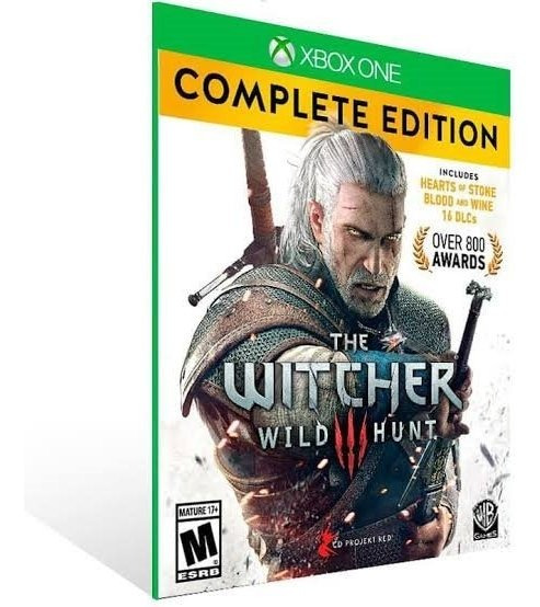 The Witcher 3 Complete Edition (mídia Física) Xbox One Pt-br