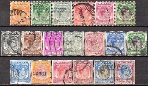 Cingapura - King George Vi - 1948 A 1952 C4