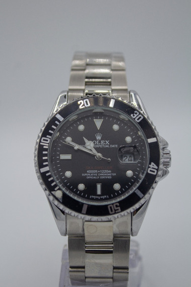 Relógio Rolex Submariner - Masculino - Prateado