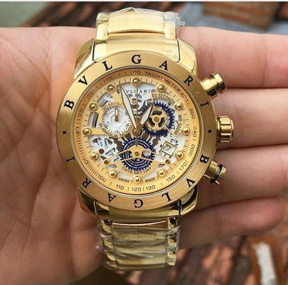 Relógio Bvlgari Na Cor Dourado