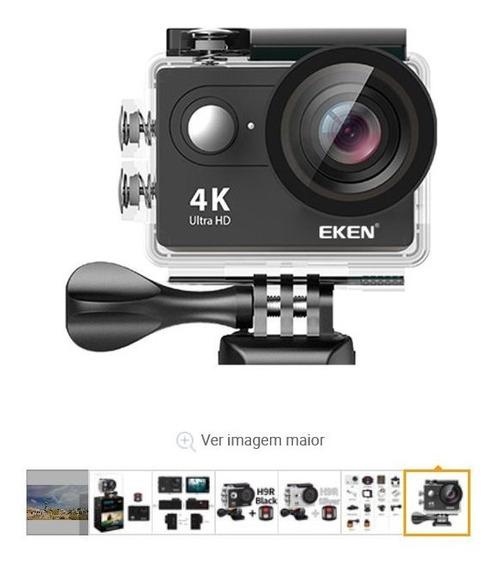 Câmera Eken H9r4k Ação Para Mergulho Wifi À Prova Agua