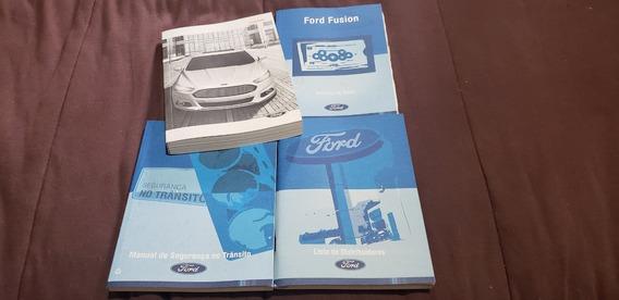 Manual Proprietário Ford Fusion 2016 Completo
