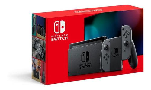 Imagen 1 de 7 de Consola Nintendo Switch 32gb Versión 1.1 Gris