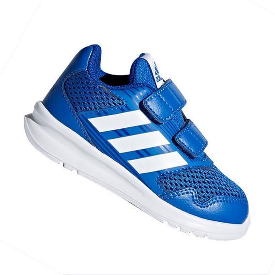 Tênis adidas De Menino Altarun Cq0028 Azul E Branco Original