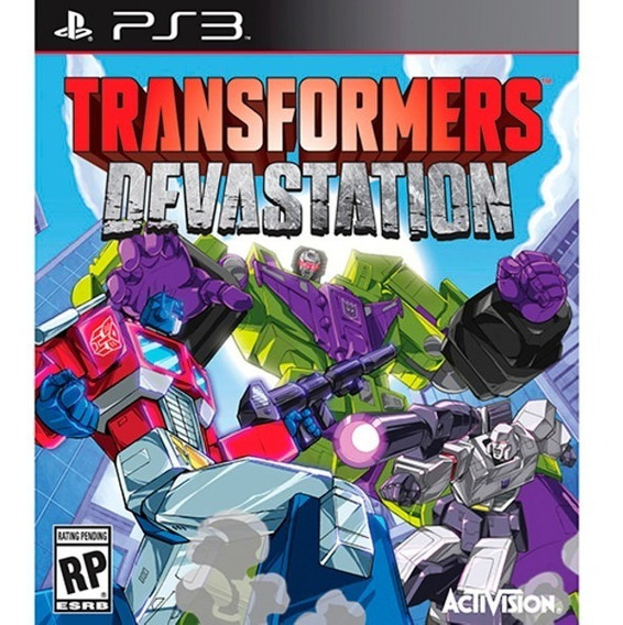 Jogo Novo Lacrado Transformers Devastation Ps3 Playstation 3
