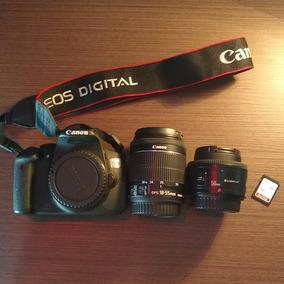 Canon T5i + 50mm + 18-55mm + Cartão 32gb 10 80mb/s
