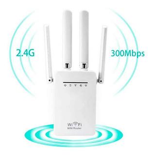 Router Repetidor Y Amplificador Wifi 300 Mbps - 05011 Mertel