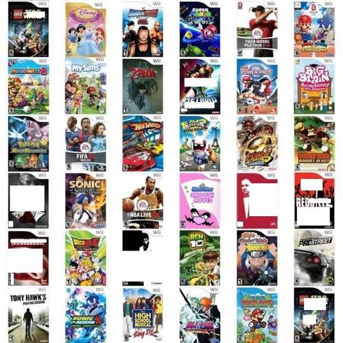 Todos Titulos Video Juegos Nintendo Wii Fìsico Dvd Calidad